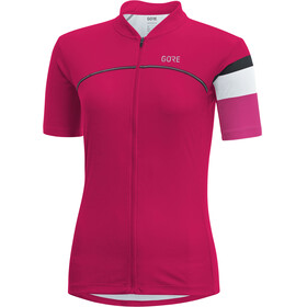 GORE WEAR C5 Jersey Women jazzy pink/raspberry rose